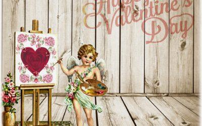 Valentinstag: süß-sauer (19. Jhd.)